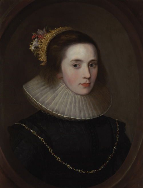 <br /><br />Portrait of Gertrude Sadleir, Lady Aston of Forfar</p><br /><p>Unknown artist, English School Early Seventeenth Century<br /><br />