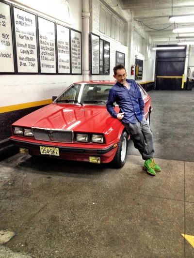 McNasty copped a vintage Maserati.