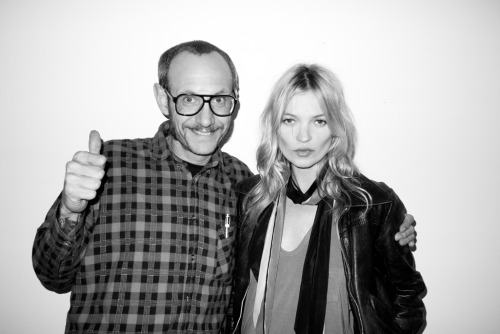 Me and Kate Moss