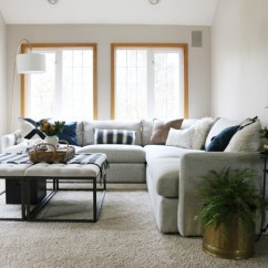 Crate And Barrel Lounge Sofa Pilling Clearance Sofas Loveseats The Family Room Sectional Was Our Best Choice Yet Jones Design Co After Lots Of Online Searching A Few Days Furniture Store Shopping We Ultimately Landed On Ii 3 Piece From