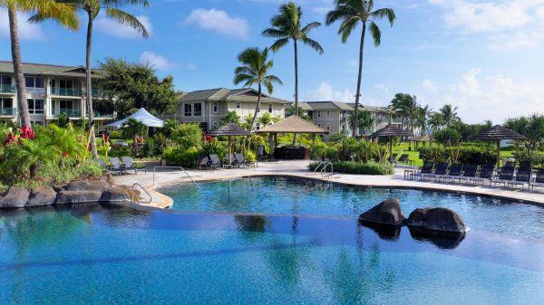 Kauai Hotel Pool Westin Princeville Ocean Resort Villas