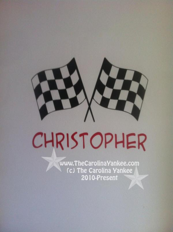 Custom Checkered Flags With Choice Of Colors Vinyl