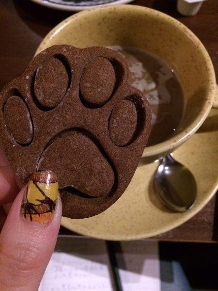 肉球型クッキー