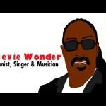 【スティービーワンダー】バイオグラフィー英語解説動画 「Who is Stevie Wonder? (Biography) Educational Videos: Celebrating Black History Month」と「日本へのメッセージ」