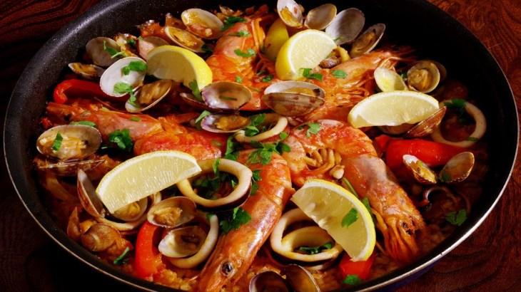 【パエリアレシピ】本格シーフードパエリアの作り方 Seafood Paella racipe