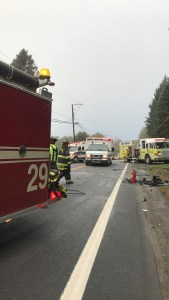 Head-On Accident Sends Three to Trauma Center