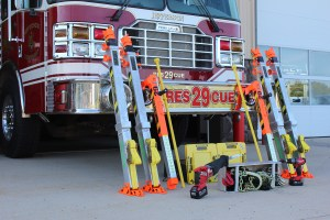 Stabilization Equipment Added to Vehicle Rescue Toolbox
