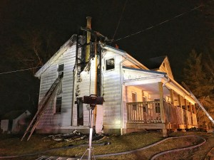 Overnight Wayne County Structure Fire