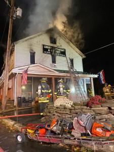 Second Alarm Wayne County Fire Destroy's Business & Apartments