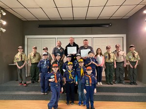 Local Scouts Receive Fire Prevention & Safety Presentation from Emergency Service Organizations