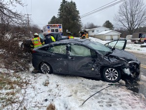 Winter Weather Turns, Causing Tricky Driving Conditions