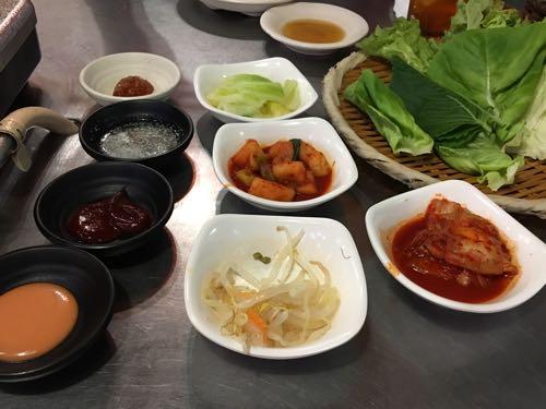 韓国料理,豚や,渋谷,サムギョプサル