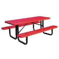 Standard Expanded Metal Picnic Table | Outdoor School ...