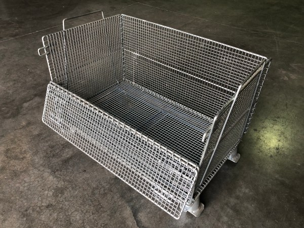 Collapsible Wire Baskets Industrial Mesh