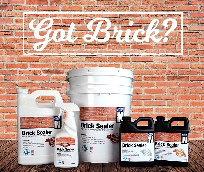 Introducing BRICK SEALER Specifically for Brick Surface