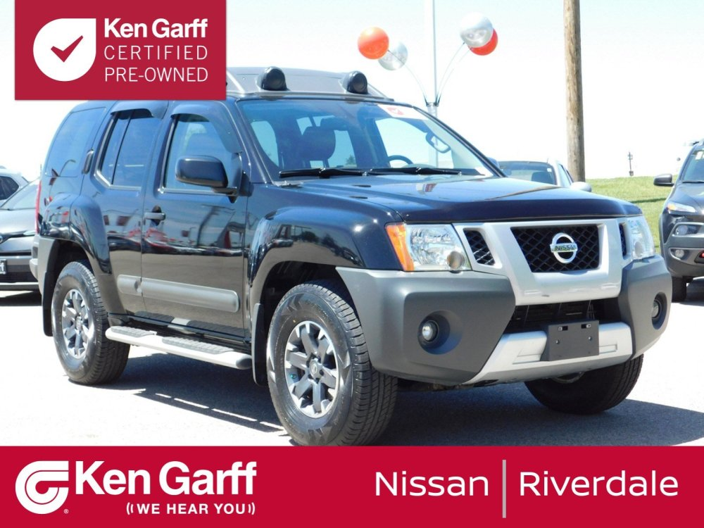 medium resolution of certified pre owned 2014 nissan xterra pro 4x