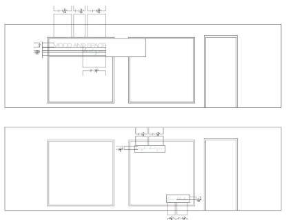 MAS Design interior window elevation for decal