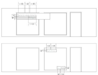 MAS Design interior window elevation for decal