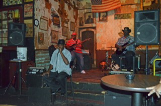 Vince Johnson at the Blues Hall Juke Joint