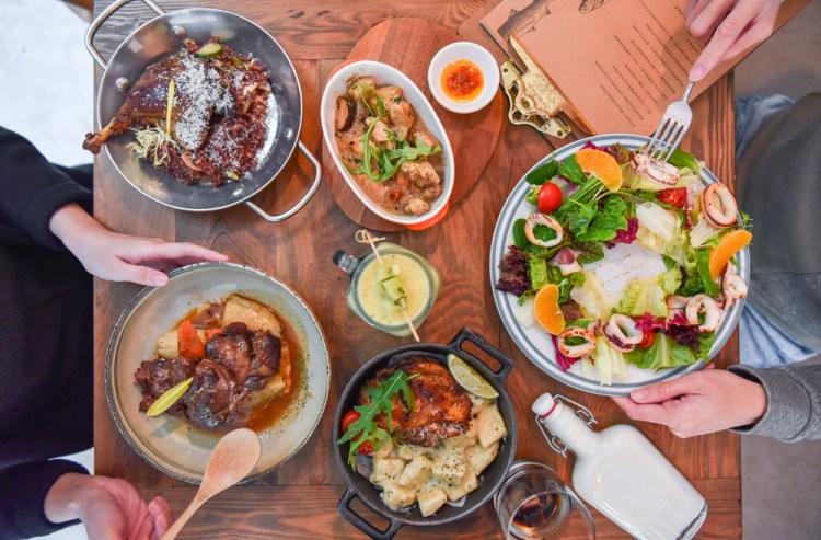 RISO RISO里頌地中海餐酒館:台中西區美食-鄰近勤美綠園道的地中海異國料理,環境優美適合約會