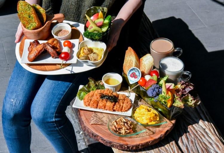 捌點玖立系列/8.9brunch:台中西區美食-鄰近綠園道的健康平價大份量早午餐,擺盤浮誇好吃又好拍!