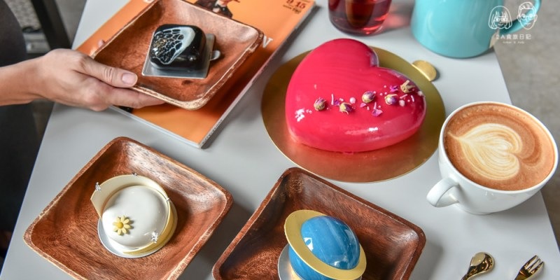 P&J's Pâtisserie 甜點工作室:台中西區美食-鄰近草悟道的平價手工鏡面蛋糕咖啡廳。