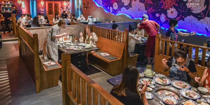 墨妃家燒肉:台中南屯區美食-好玩又好拍的宮廷燒肉餐廳吃得到乾式熟成牛!營業到宵夜時段吃得更滿足,另附設包廂適合聚餐!