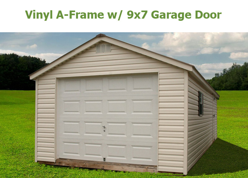 Garage Doors Greensboro Nc A-frame • Bunce Buildings