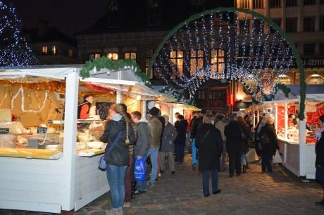 Les produits de nos régions mis à l'honneur sur le marché de noël de Rouen