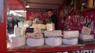 Nougat artisanal sur le marché de Noël de Nantes