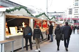Shopping au Village de Noël de Rennes