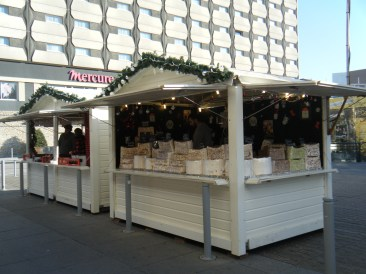 Chalets du marché de Noël de Rennes