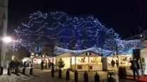 Chalets du marché de Noël de Rouen