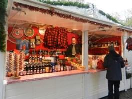 Chalet canadien au marché de Noël de Rouen