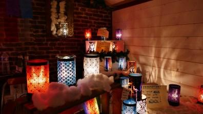 Lampe diffuseur sur le marché de Noël du Mans