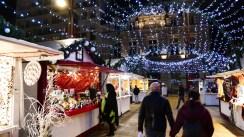 Illuminations du marché de Noël du Mans