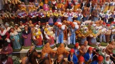 Les traditionnels santons pour fêter Noël à Nantes