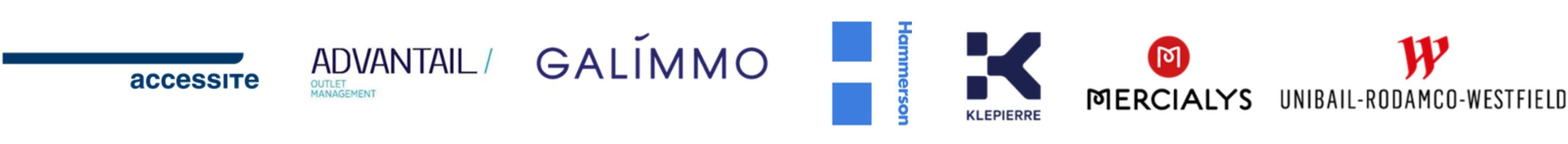Logos de nos immobilières partenaires