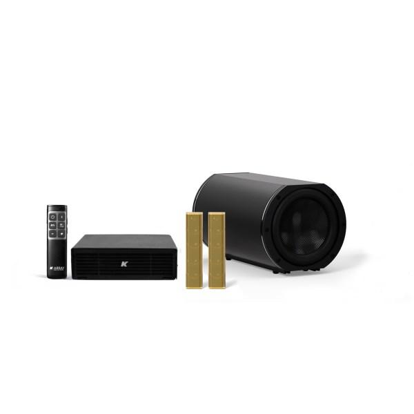 K-ARRAY AZIMUT KAMUT2L14 Discreet audio solution antique gold