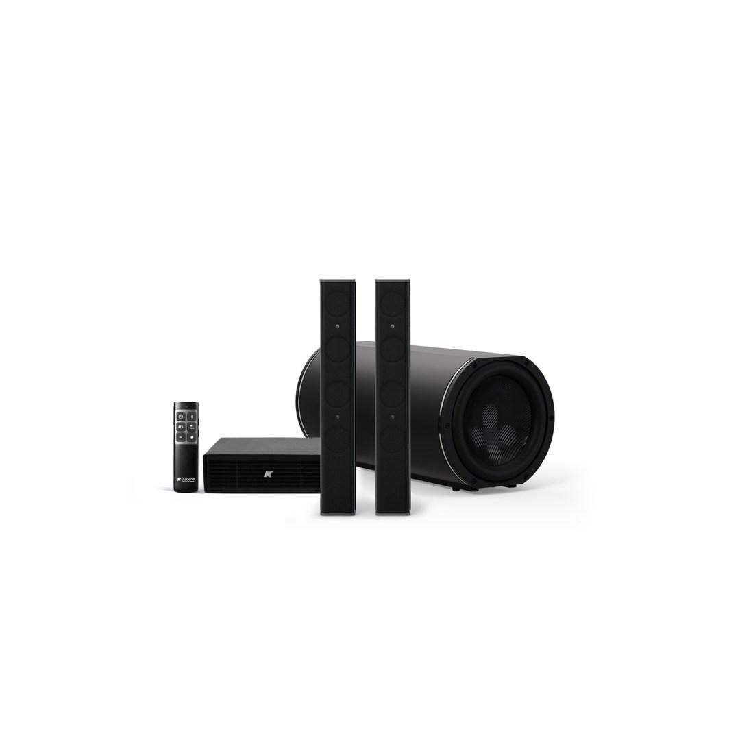 K-ARRAY AZIMUT KAMUT2V25 Discreet Home audio solution black
