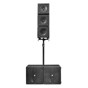 K-ARRAY Axle KRX802 large portable audio system front view