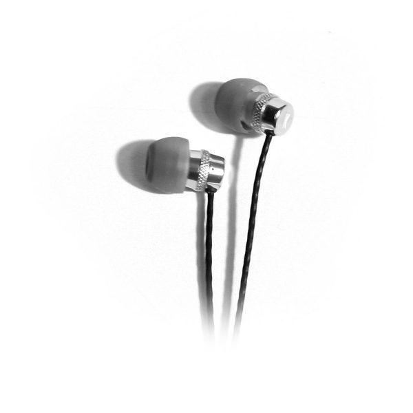 K-Array Duetto KD6T earphones aluminium earphones close up of ear buds