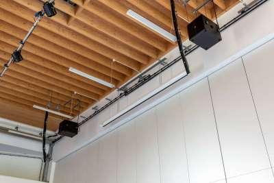 K-array loudspeaker audio installation