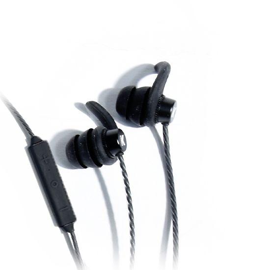 K-Array Duetto KD6T earphones aluminium earphones close up of ear buds