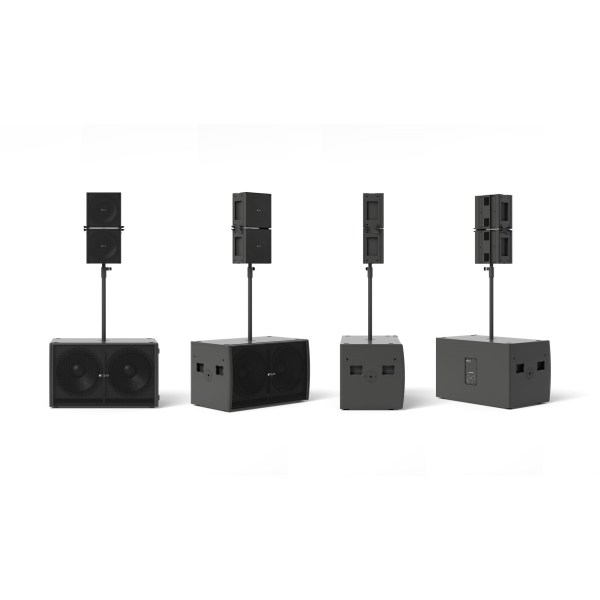 KGEAR GPZ Subwoofer and two Slim Array Elements