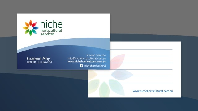 Niche Horticultural Services Branding