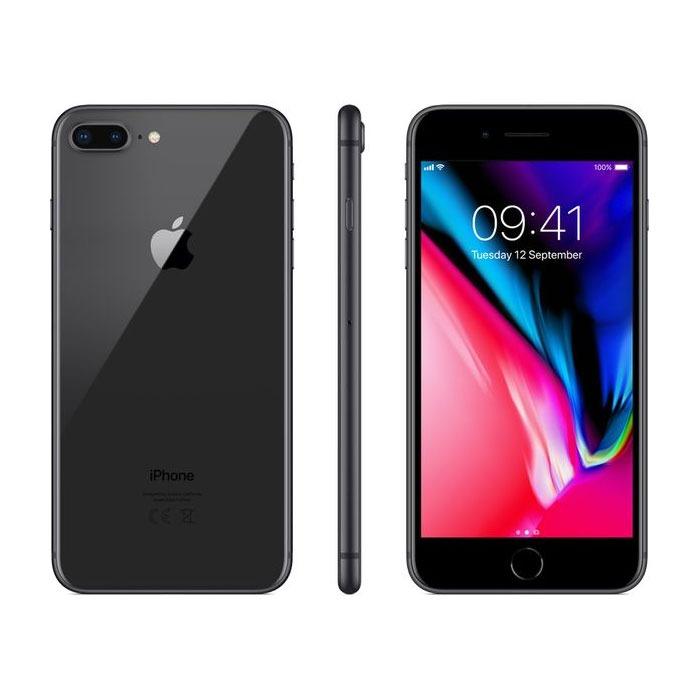 Apple Iphone 8 Plus 3gb Ram 64gb Fingerprint Gray Official Warranty