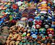 Street vendors next to Chichen Itza, Mexico