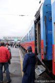 Boarding Rossyia, train number 2