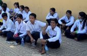 Khmer students